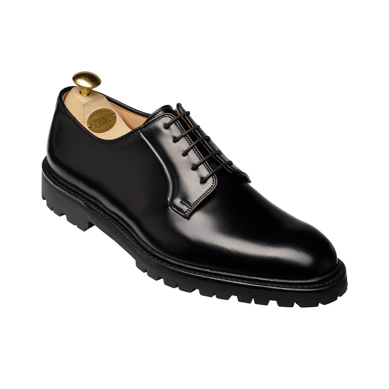 Lanark III Black Calvary Calf, Crockett & Jones