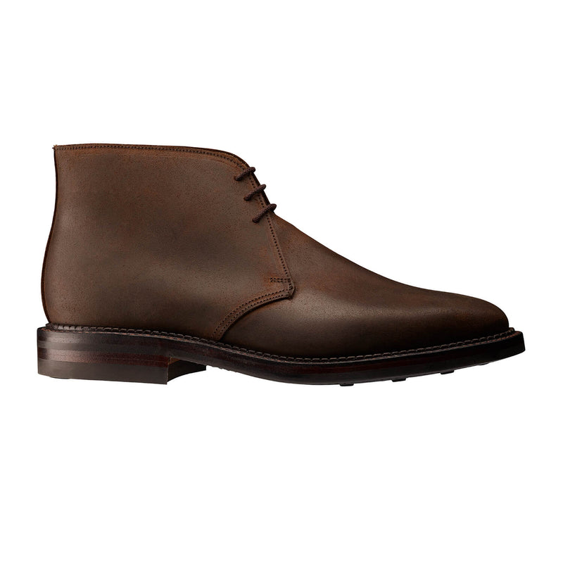 Molton Dark Brown Rough-out Suede