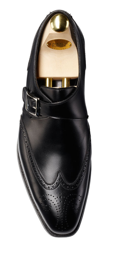 Chadwick Black Calf, Crockett & Jones