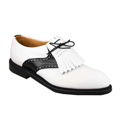 Golfsko Oxford White & Black Joseph Cheaney & Sons