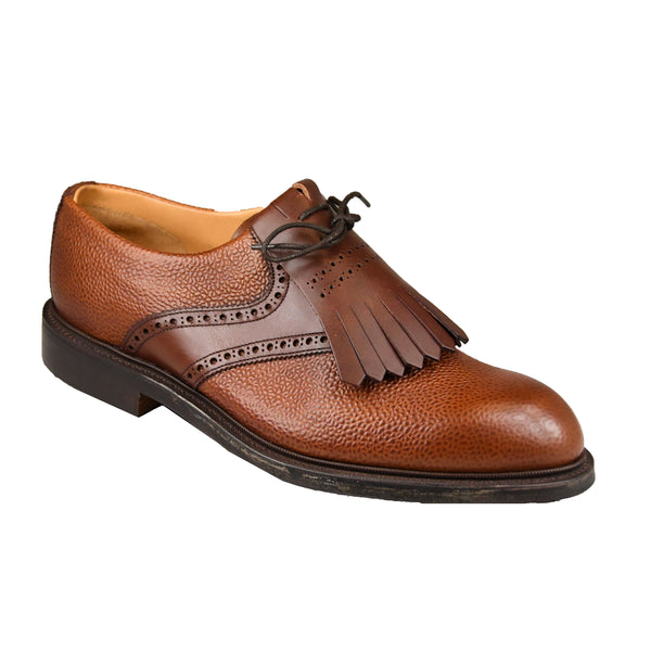 Golfsko Mahogany Grain and Brown Wax Calf Joseph Cheaney & Sons