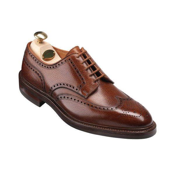 Pembroke Tan Scotch Country Grain, Crockett & Jones