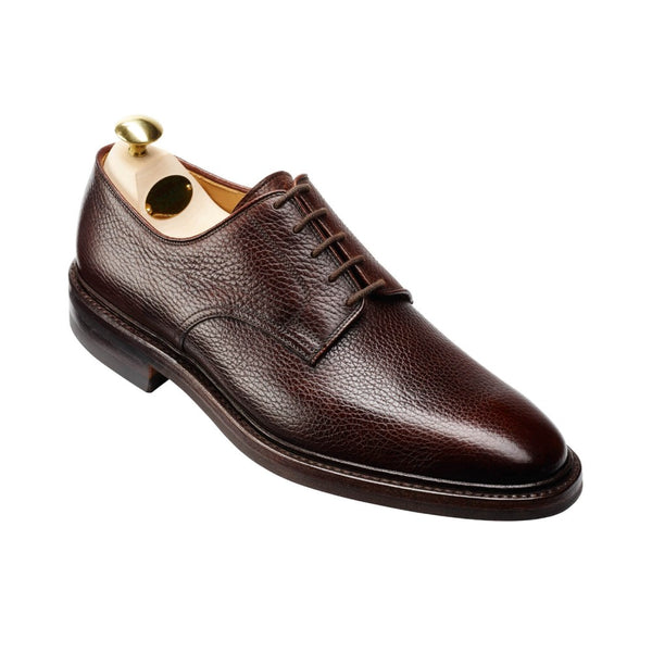 Ashdown Dark brown country calf grain