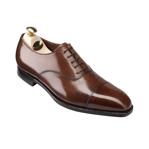 Audley dark brown calf