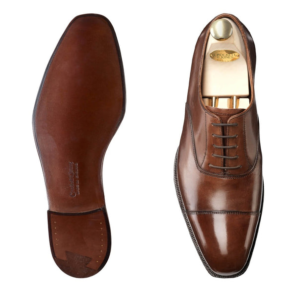 Audley dark brown calf, Crockett & Jones