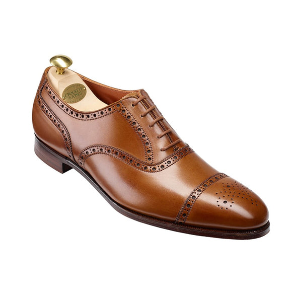 Barrington II tan antique calf, Crockett & Jones