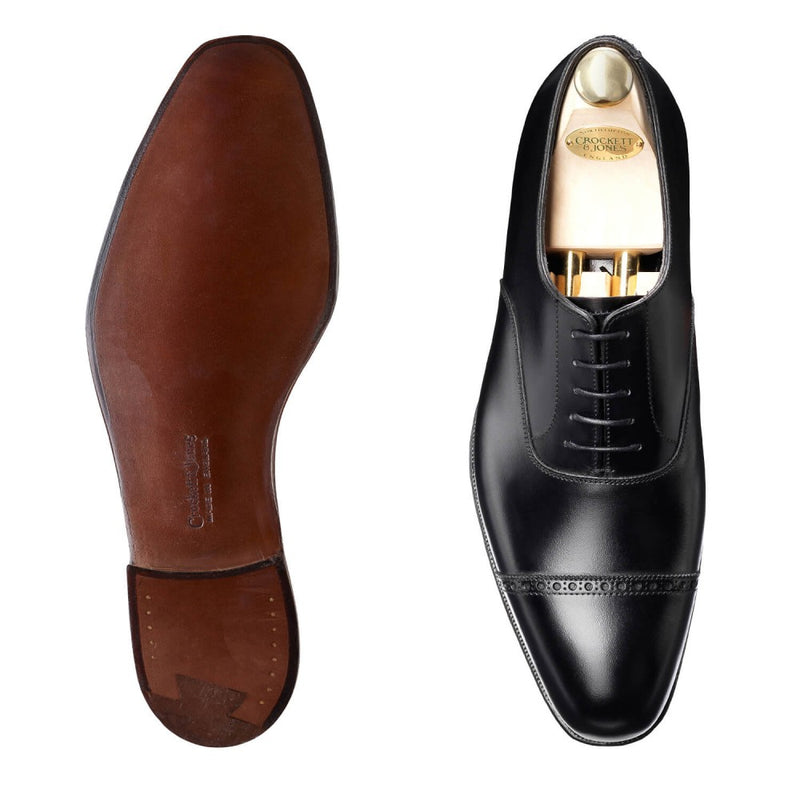 Belgrave black calf, Crockett & Jones
