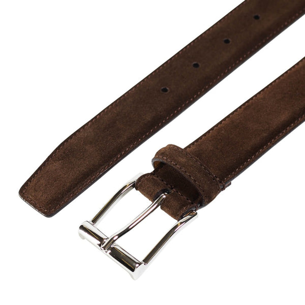 Belt Dark Brown Suede