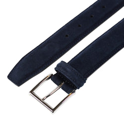 Belt Navy Suede