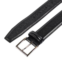 Belt Black Scotch Grain