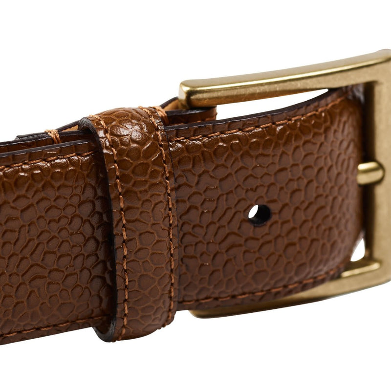 Belt Tan Scotch Grain