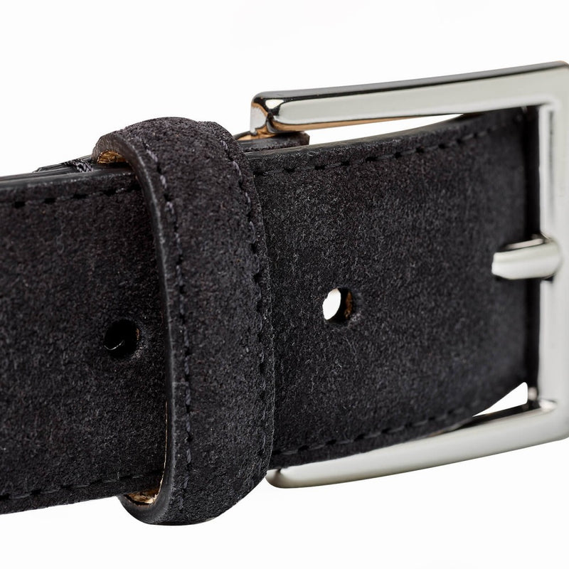 Belt Black Suede