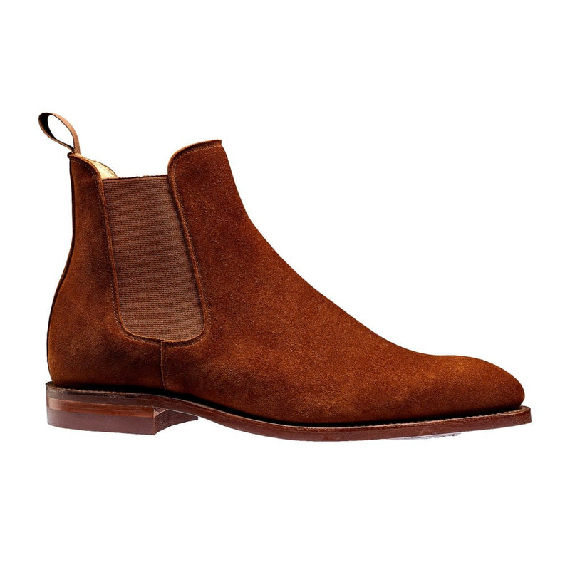 Bonnie Polo Brown Calf Suede, Crockett & Jones