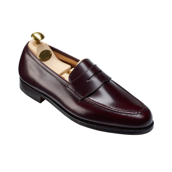 Boston burgundy calvary calf