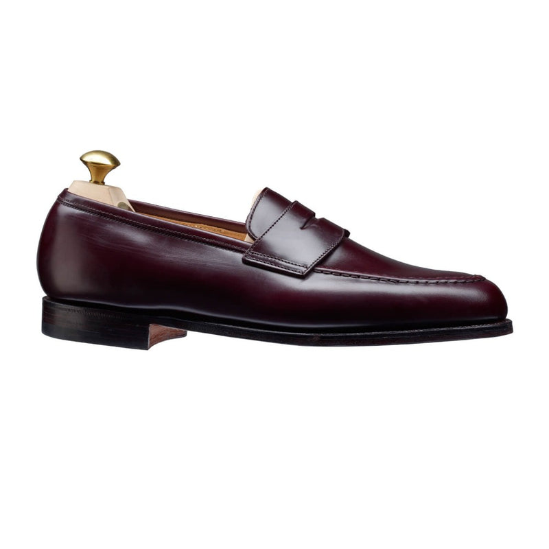 Boston burgundy calvary calf, Crockett & Jones