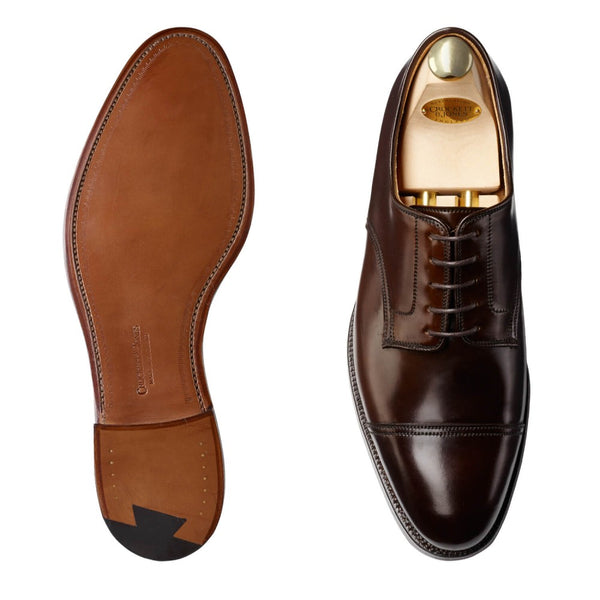 Bradford Dark Brown Cordovan, Crockett & Jones