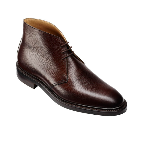 Brecon Dark Brown Country Calf Grain, Crockett & Jones