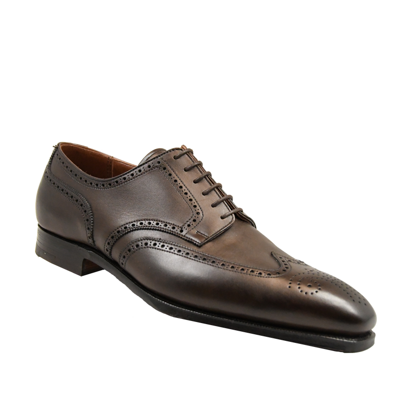 Brunswick dark brown calf, crockett & jones