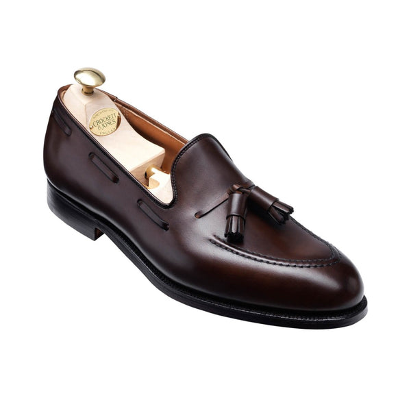 Cavendish Dark Brown Burnished Calf