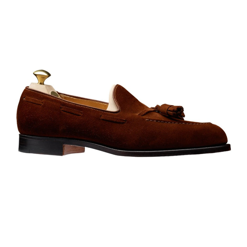 Crockett & Jones Cavendish Tassel Loafer in Polo Suede