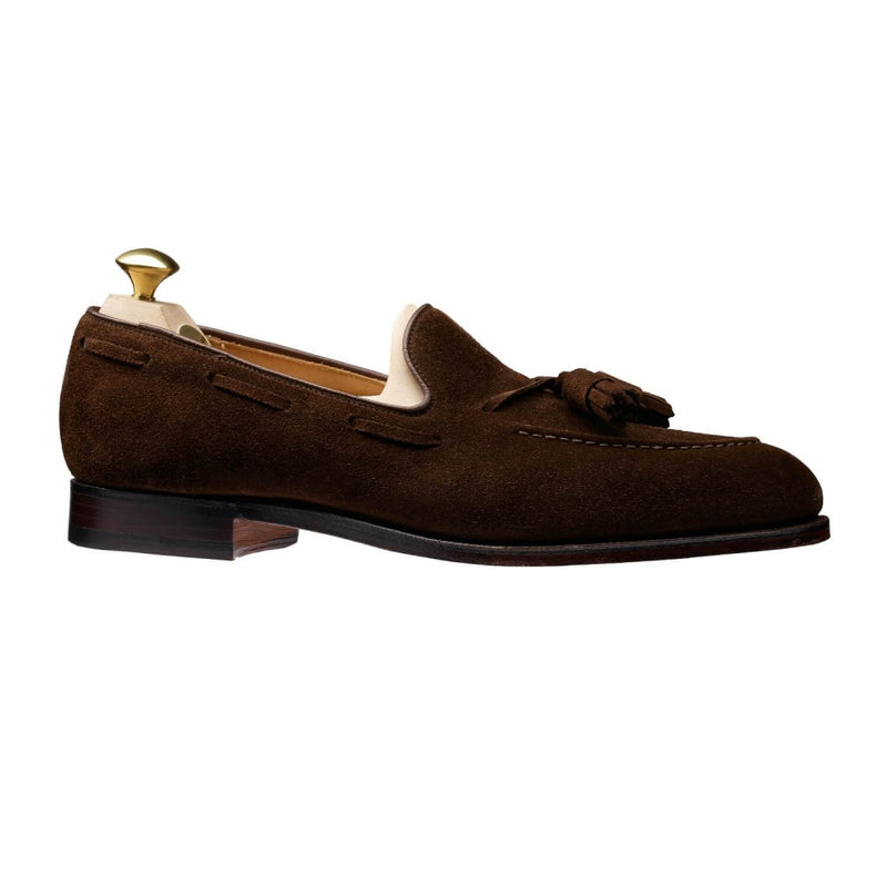 Cavendish Dark Brown Calf Suede, Crockett & Jones