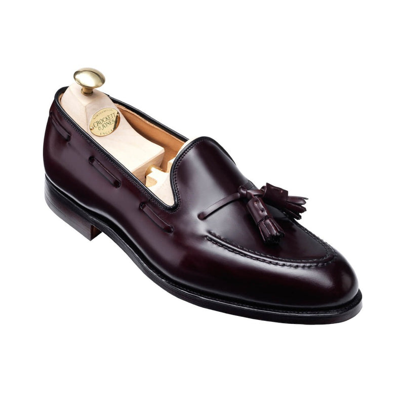 Crockett & Jones Cavendish in Burgundy Shell Cordovan