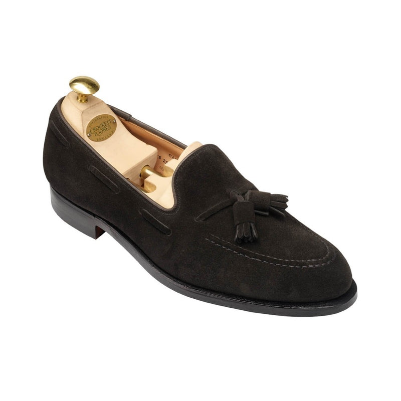 Cavendish Black Calf Suede