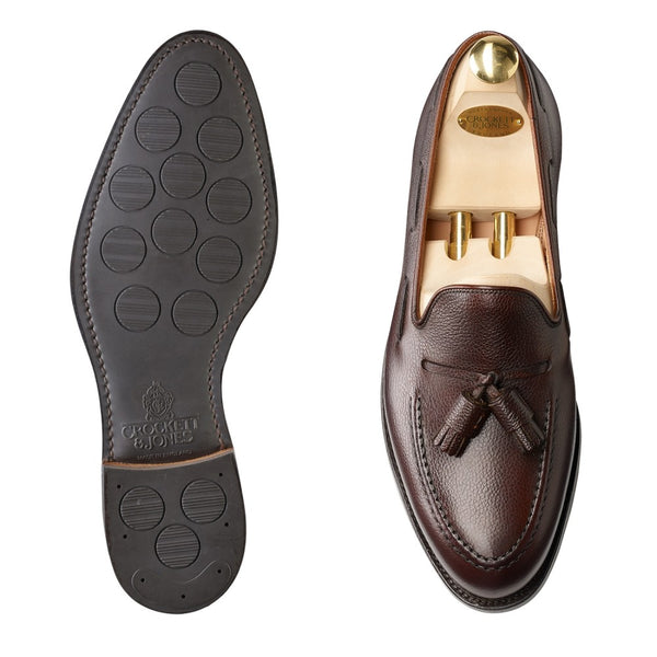 Cavendish Dark Brown Pebble Grain, Crockett & Jones
