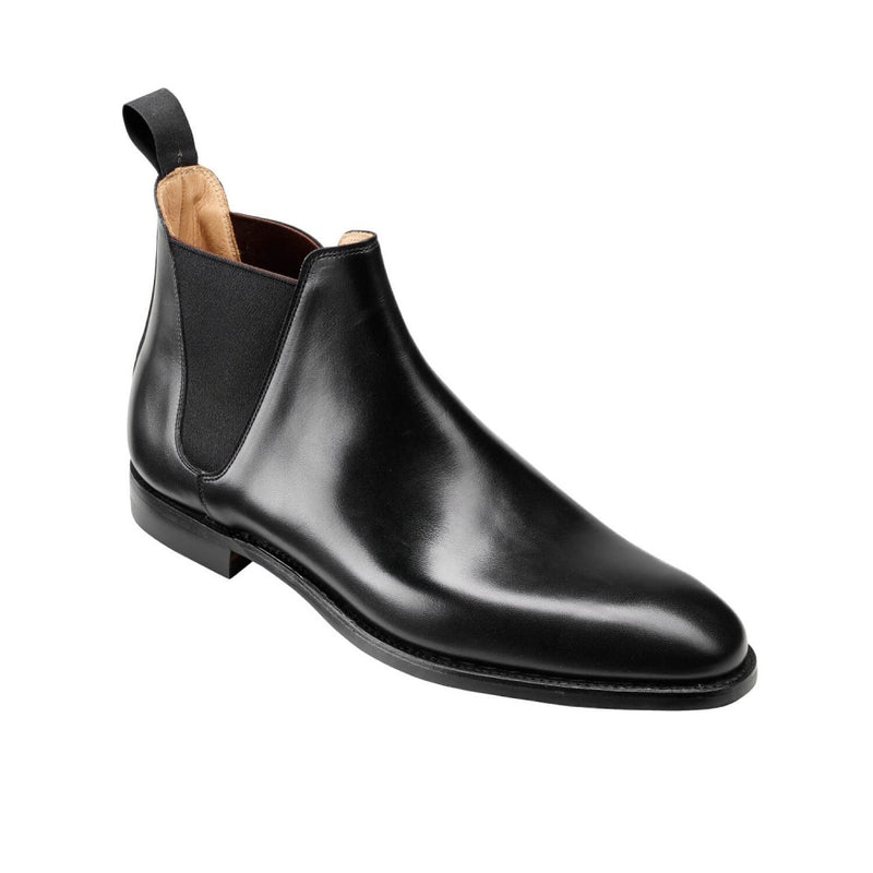 Crockett & Jones Chelsea VIII in Black Wax Calf