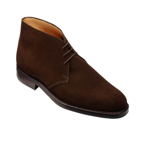 Chiltern Dark Brown Suede, Crockett & Jones