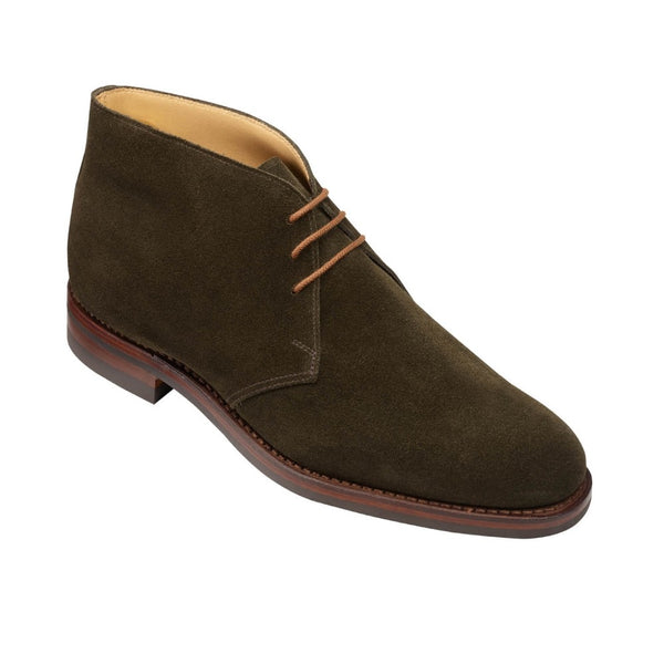 Chiltern Earth Green Suede