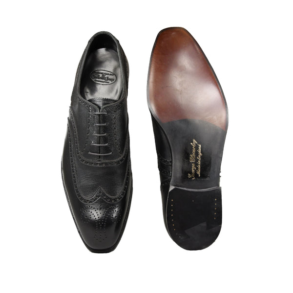 Clifford Black Willow Grain, storlek 8,5 E , Crockett & jones