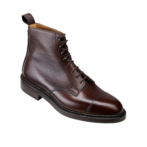 Coniston Dark Brown Scotch Country Grain, Crockett & Jones