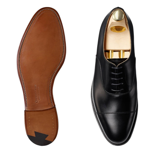Connaught Black Calf, Crockett & Jones