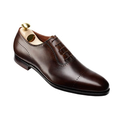 Courtenay Dark Brown Antique Calf, Crockett & Jones