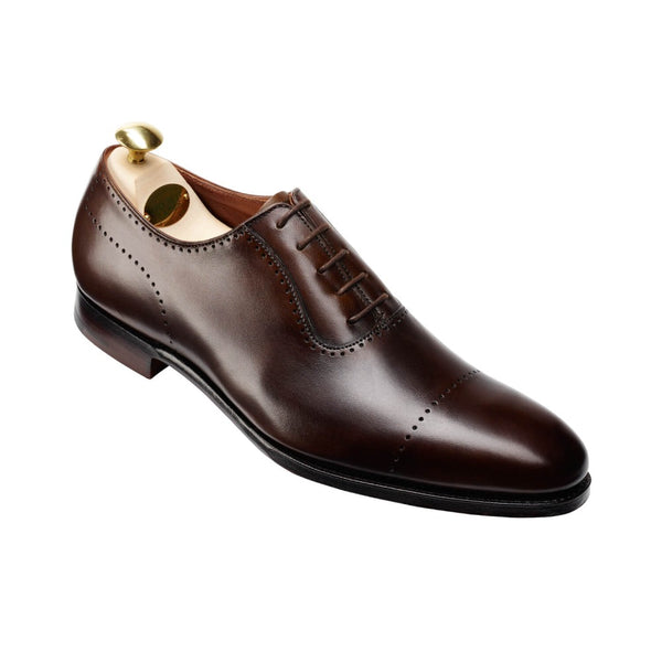 Courtenay Dark Brown Antique Calf