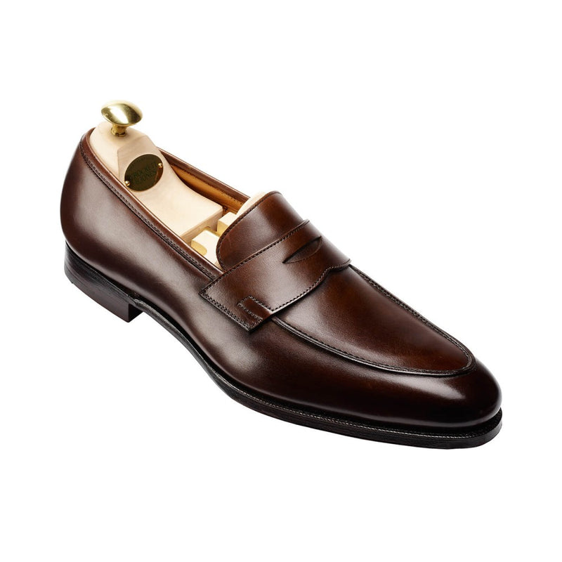 Crawford Dark Brown Antique Calf