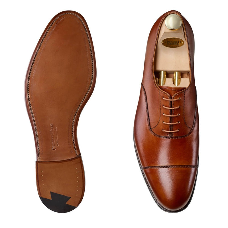 Dorset II Tan Burnished Calf, Crockett & Jones