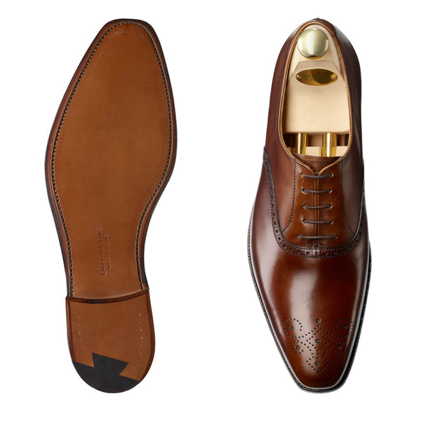 Edgware Dark Brown Burnished Calf, Crockett & Jones