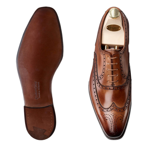 Fairford Tan Antique Calf, Crockett & Jones
