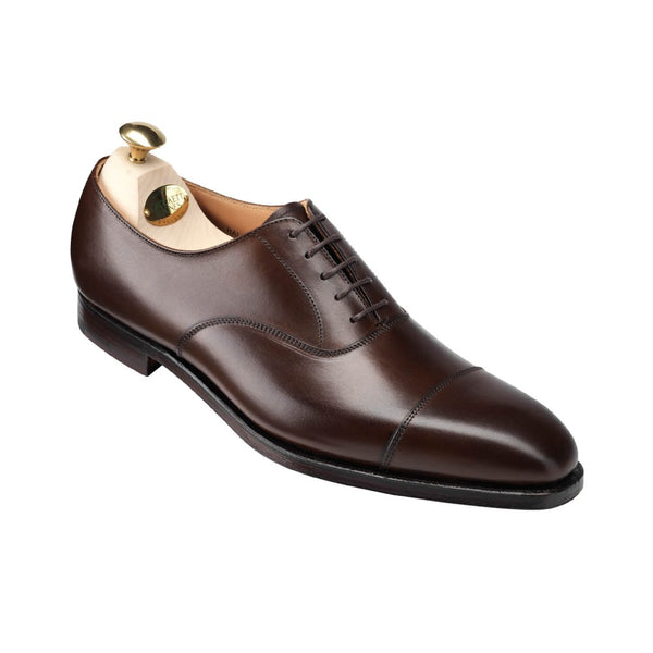 Hallam Dark Brown Burnished Calf, Crockett & Jones
