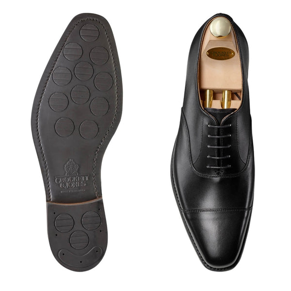 Hallam Black Calf, city sula, Crockett & Jones