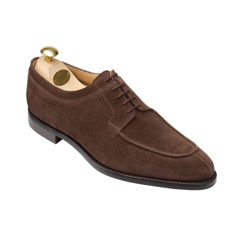 Hardwick Dark Brown Suede, Crockett & Jones