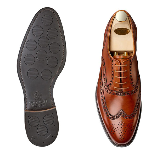 Westgate II tan calf, city sula, Crockett & Jones