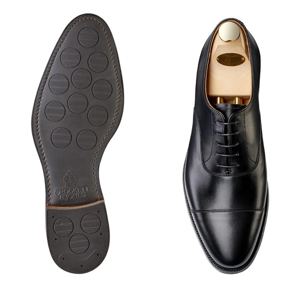 Connaught II Black Calf, City Sula, Crockett & Jones