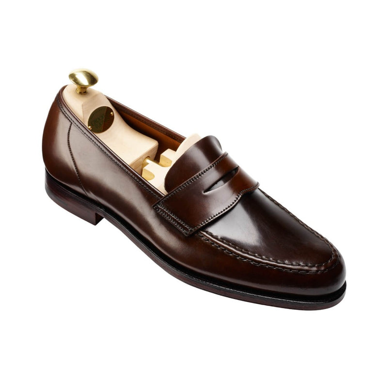 Harvard Dark Brown Cordovan, Crockett & Jones