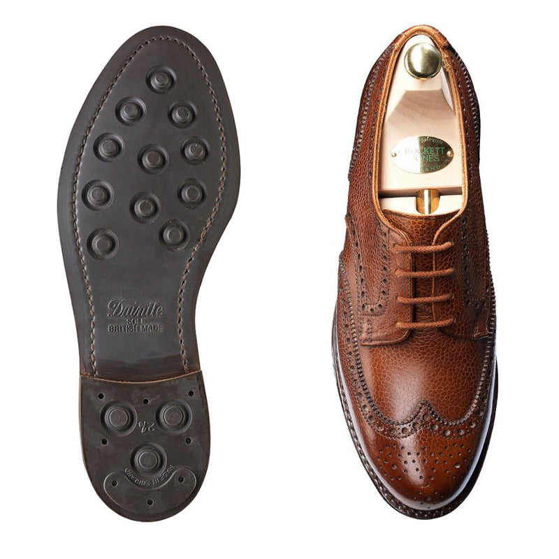 Ashford Tan Scotch Country Grain, Crockett & Jones