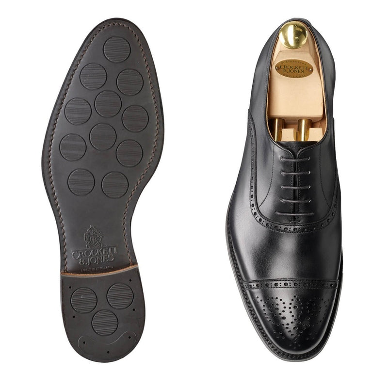 Hatton Black Calf, Crockett & Jones