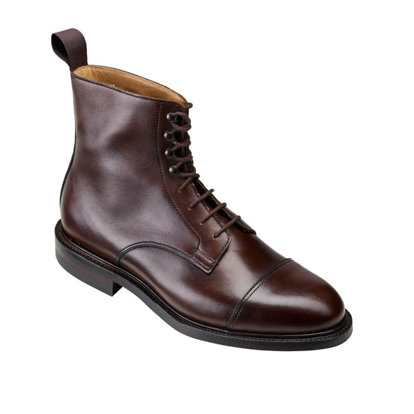 Jane Dark Brown Burnished Calf