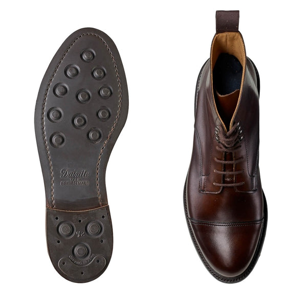 Jane Dark Brown Burnished Calf, Crockett & Jones